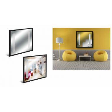Зеркало LED-02 Чёрное
