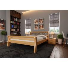 """Кровать """"Ретро"""" с ковкой высокое изножье"""