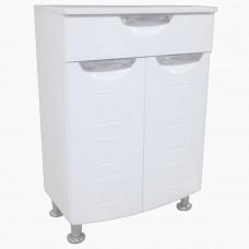 Полупенал (комод) для ванной_ПП-501 Бриз фрез №4 (50-80 см)