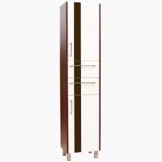 Пенал для ванной_П-5 Фаворит венге (30-60 см)