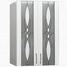 Шкаф навесной для ванной_ШН-500 Витраж (50-80 см)