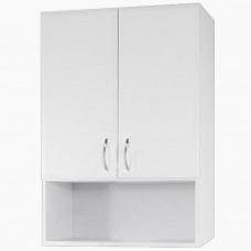 Шкаф навесной для ванной_ШН-500 1 открытая полка (50-80 см)