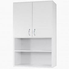 Шкаф навесной для ванной_ШН-500 2 открытые полки (50-80 см)
