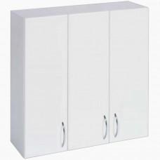 Шкаф навесной для ванной_ШН-750 3 двери (75-105 см)
