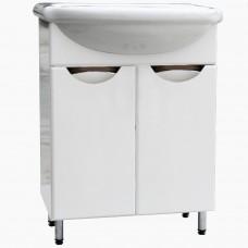 Тумба в ванную Т-1 Карина_(под умывальник от 50-80 см)