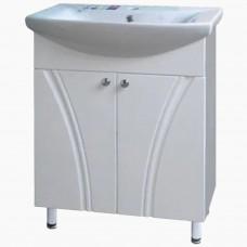 Тумба в ванную Т-1 Флуссо_(под умывальник от 40-80 см)