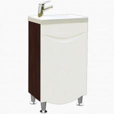 Тумба в ванную Т-1 Мишель NEW венге_1 дверь (под умывальник от 40-50 см)