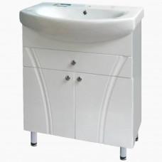 Тумба в ванную Т-33 Флуссо_(под умывальник от 50-105 см)