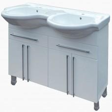 Тумба в ванную Т-37_(под двойной умывальник от 100-120 см)