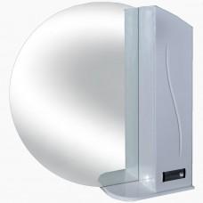 Зеркало для ванной без света_З-20 круглое фрез №1 (80-100 см)