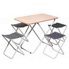 Комплект ПИКНИК_(Стол + 4 стула)
