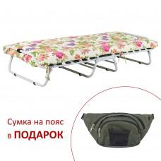 Раскладная кровать с матрасом_ЦВЕТЫ