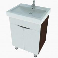 Тумба в ванную Т-1 Мишель венге_(под умывальник от 40-80 см)