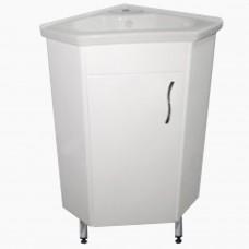 Тумба в ванную Т- Угловая_(под умывальник 45х45 см)