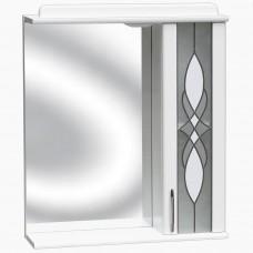 Зеркало для ванной с подсветкой_З-1 Витраж (40-105 см)