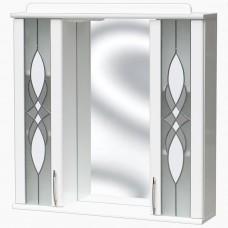 Зеркало для ванной с подсветкой_З-12 Витраж (70-105 см)