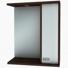 Зеркало для ванной с подсветкой_З-1 Адидас Венге (40-105 см)