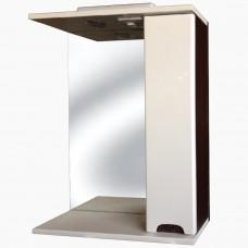 Зеркало для ванной с подсветкой_З-1 Бьянка венге (40-105 см)