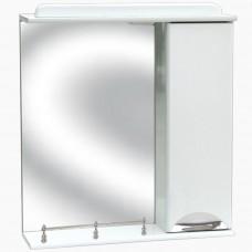 Зеркало для ванной с подсветкой, с ограждением_З-1 Карина (40-105 см)