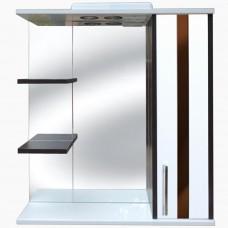 Зеркало для ванной с подсветкой_З-2 Фаворит (70-105 см)