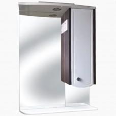 Зеркало для ванной с подсветкой_З-3 Катрин с полкой (40-95 см)