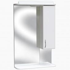 Зеркало для ванной с подсветкой_З-3 с полкой (50 см) Правый