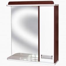 Зеркало для ванной с подсветкой_З-1 Ирида венге (40-105 см)
