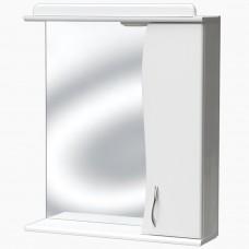 Зеркало для ванной с подсветкой _З-1 волна (50 см) Прав