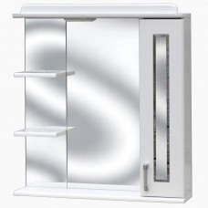 Зеркало для ванной с подсветкой_З-2 Фацет (70-105 см)