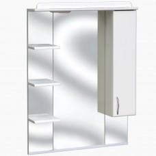 Зеркало для ванной с подсветкой_З-5 (65 см) Правый