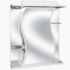 Зеркало для ванной с подсветкой_З-7 (65 см) Левый