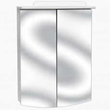 Зеркало для ванной с подсветкой_З-8 1/2 дверь (55см)