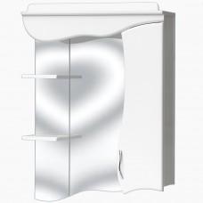 Зеркало для ванной с подсветкой_З-9 (90 см) Правый