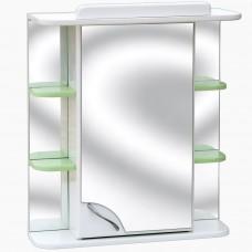 Зеркало для ванной с подсветкой и розеткой_З-11 (60-80 см)