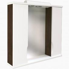 Зеркало для ванной с подсветкой_З-12 Мишель NEW венге (70-105 см)