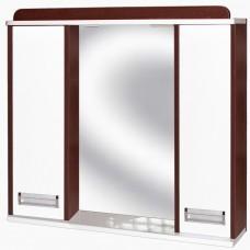 Зеркало для ванной с подсветкой_З-12 Ирида венге (70-105 см)